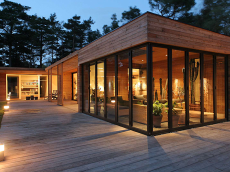Extension maison ossature bois prix awesome beautiful for Construire une extension en ossature bois
